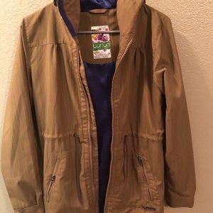 Lightweight, long burton jacket